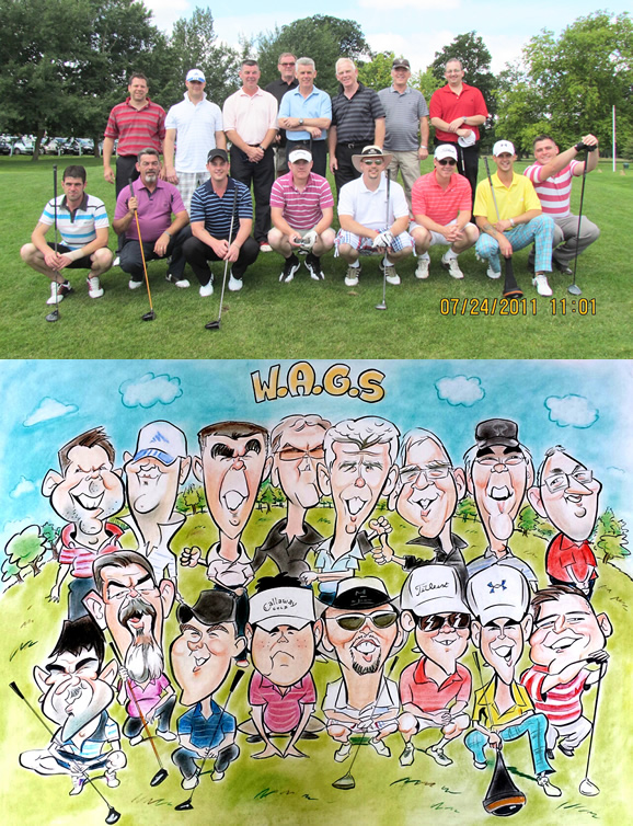 W.A.G.S Group Caricature
